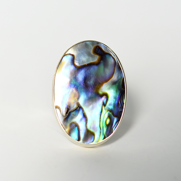 Abalone Ring - Goldmakers Fine Jewelry