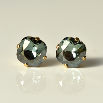 Aegean Blue Studs - Goldmakers Fine Jewelry