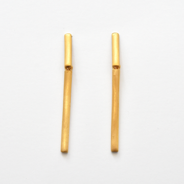 Aiguada Earrings in Gold Overlay - Goldmakers Fine Jewelry