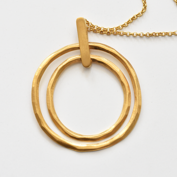 Alena Necklace in Gold Overlay - Goldmakers Fine Jewelry