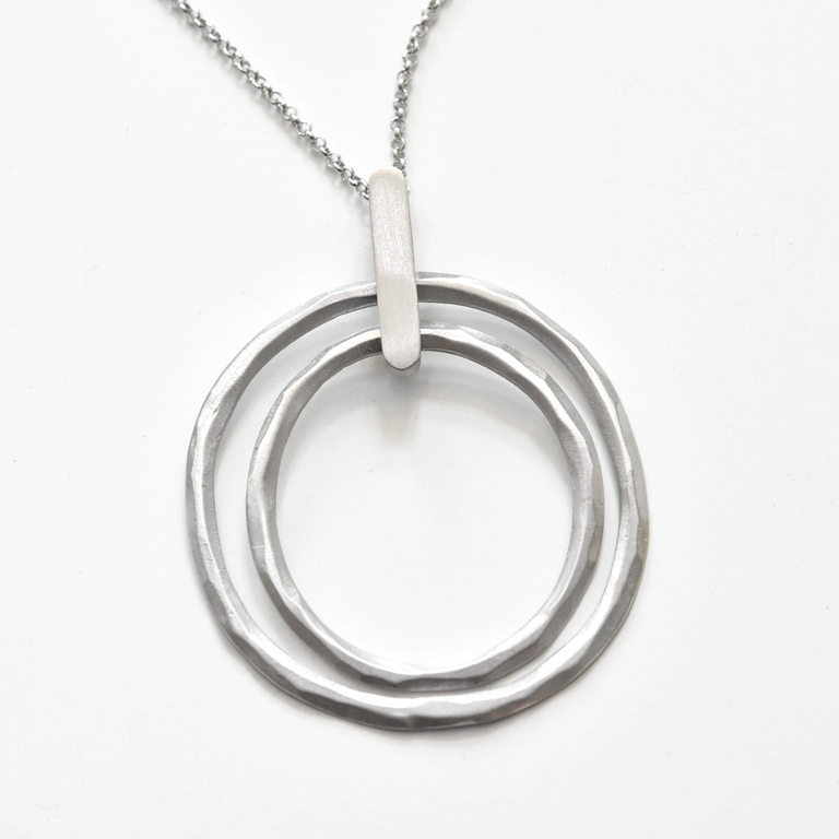 Alena Necklace in Sterling Silver - Goldmakers Fine Jewelry