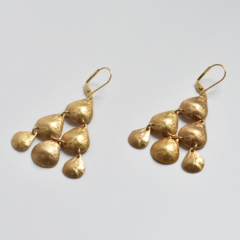 Alexandra Earrings - Goldmakers Fine Jewelry