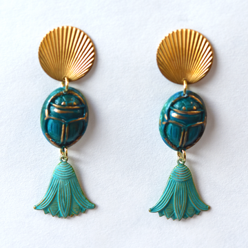 Amara Drop Earrings - Goldmakers Fine Jewelry