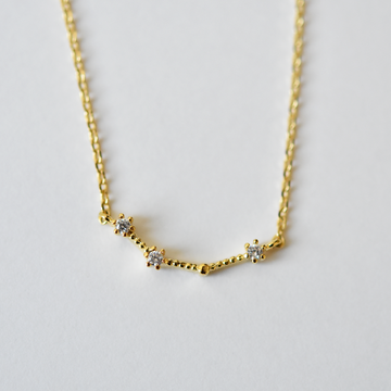 Aries Constellation Necklace - Goldmakers Fine Jewelry