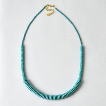 Blue Magnesite Necklace - Goldmakers Fine Jewelry