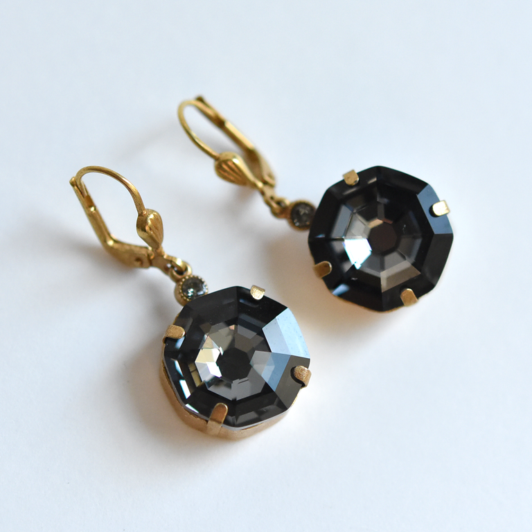 Aegean Blue Drop Earrings - Goldmakers Fine Jewelry