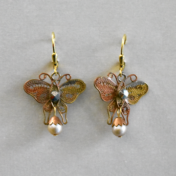 Butterfly Drops - Goldmakers Fine Jewelry