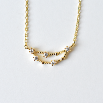 Capricorn Constellation Necklace - Goldmakers Fine Jewelry