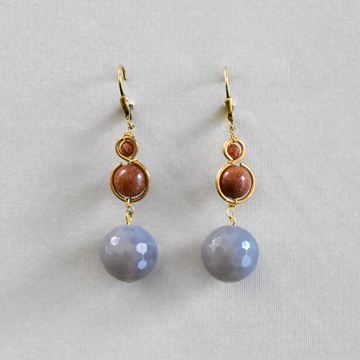 Chalcedony Drops - Goldmakers Fine Jewelry