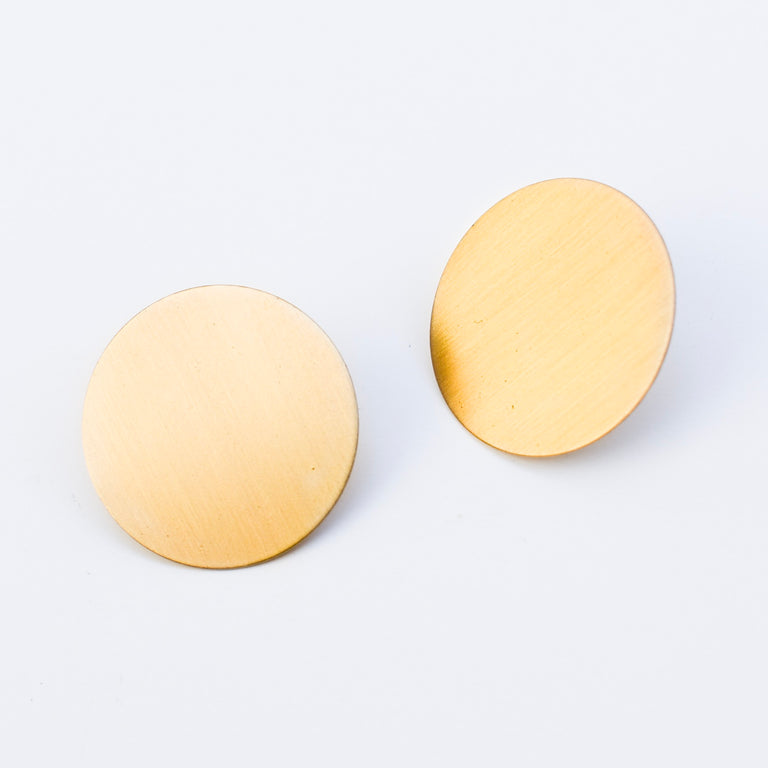 Small Circle Earrings - Goldmakers Fine Jewelry