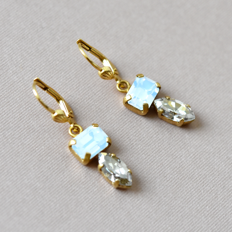 Crystal Drops - Goldmakers Fine Jewelry