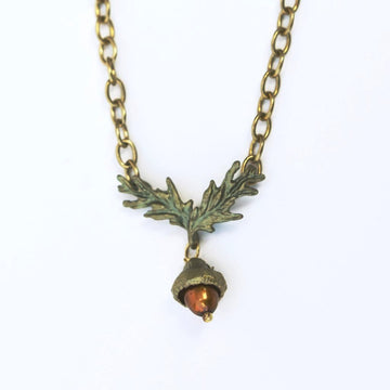 Acorn Necklace - Goldmakers Fine Jewelry