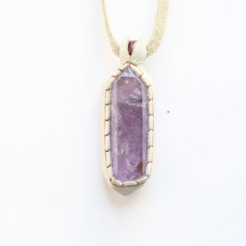 Amethyst Traveler Necklace - Goldmakers Fine Jewelry