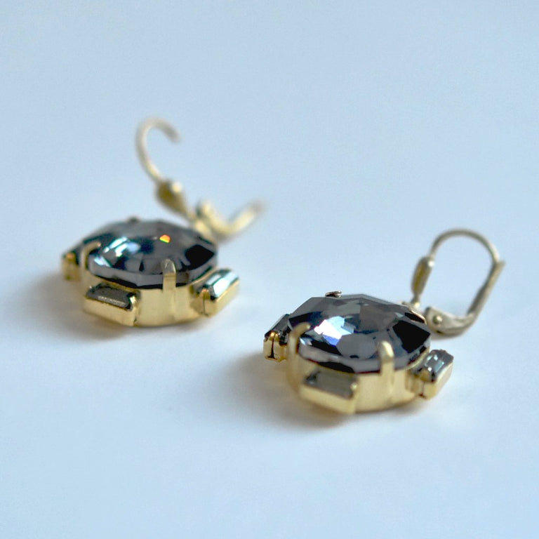 Compass Drop Earrings - Goldmakers Fine Jewelry