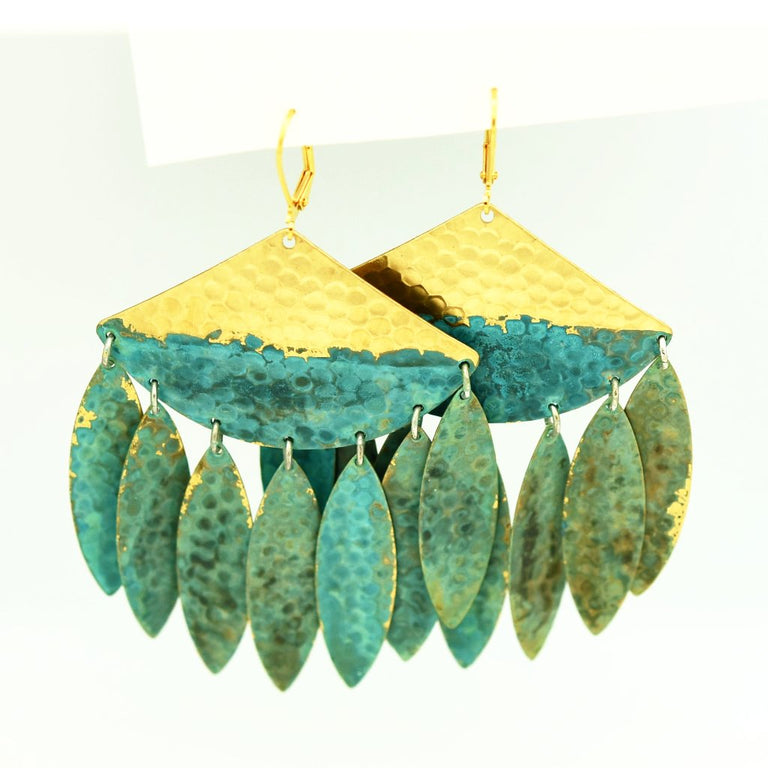 Oneta Statement Earrings - Goldmakers Fine Jewelry