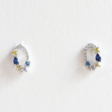 Gwenevere Stud Earrings - Goldmakers Fine Jewelry