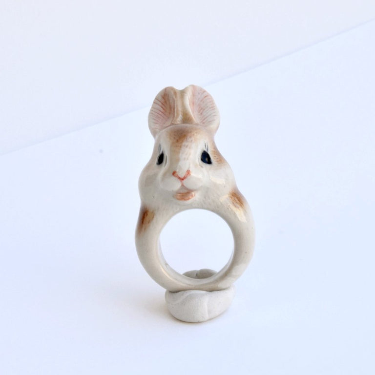 Sweet-Faced Rabbit Ring - Goldmakers Fine Jewelry