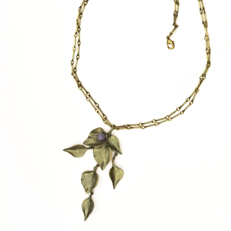 Lilac Necklace - Goldmakers Fine Jewelry