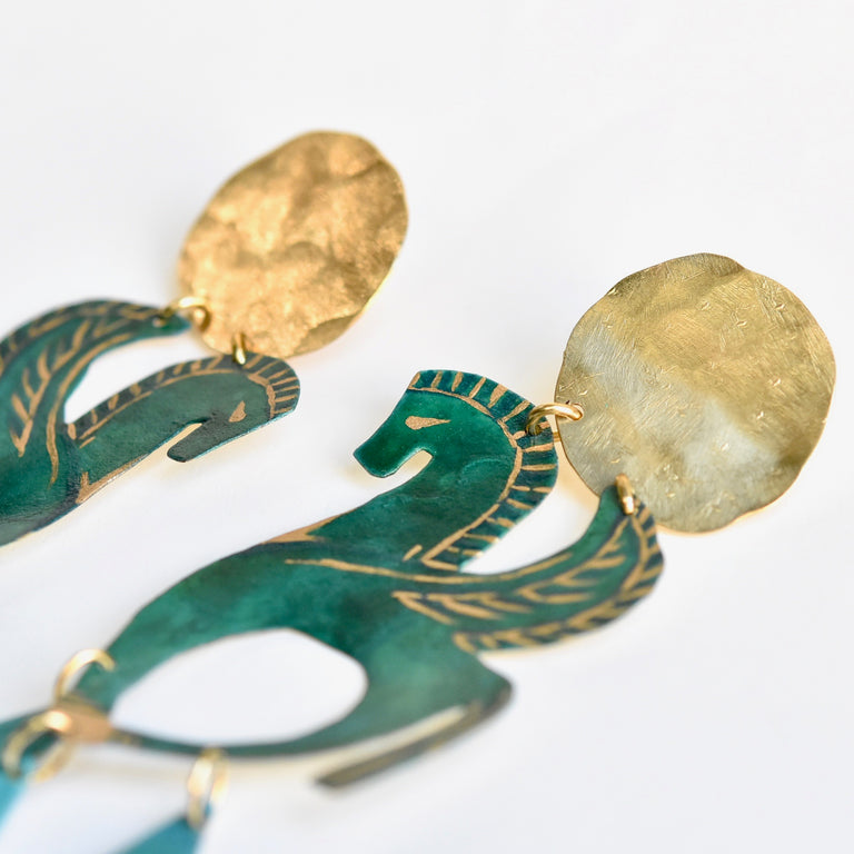 Little Hellenistic Earrings - Goldmakers Fine Jewelry