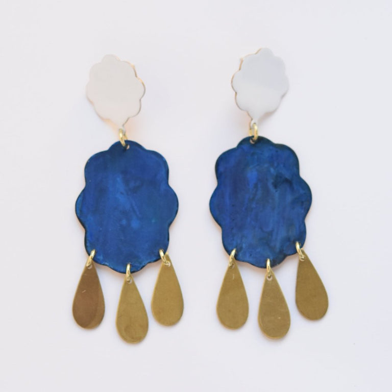 Weather Girl Earrings - Goldmakers Fine Jewelry