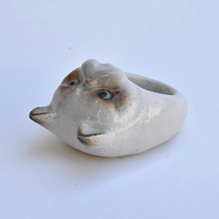 Celebrity Cat Ring - Goldmakers Fine Jewelry