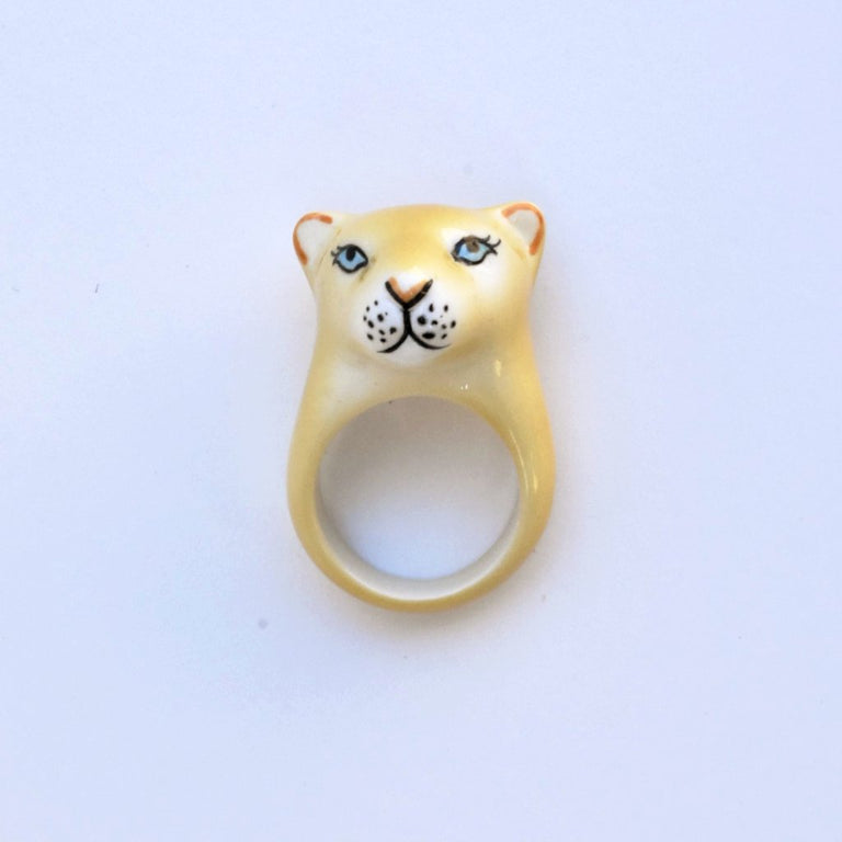 Mama Lion Ring - Goldmakers Fine Jewelry