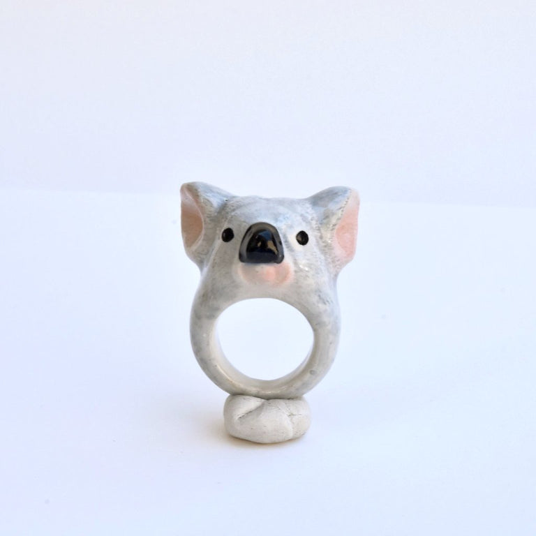 Cuddly Koala Ring - Goldmakers Fine Jewelry