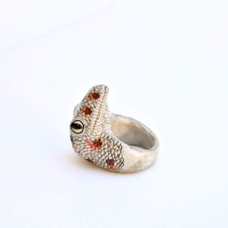 Lizard Ring - Goldmakers Fine Jewelry