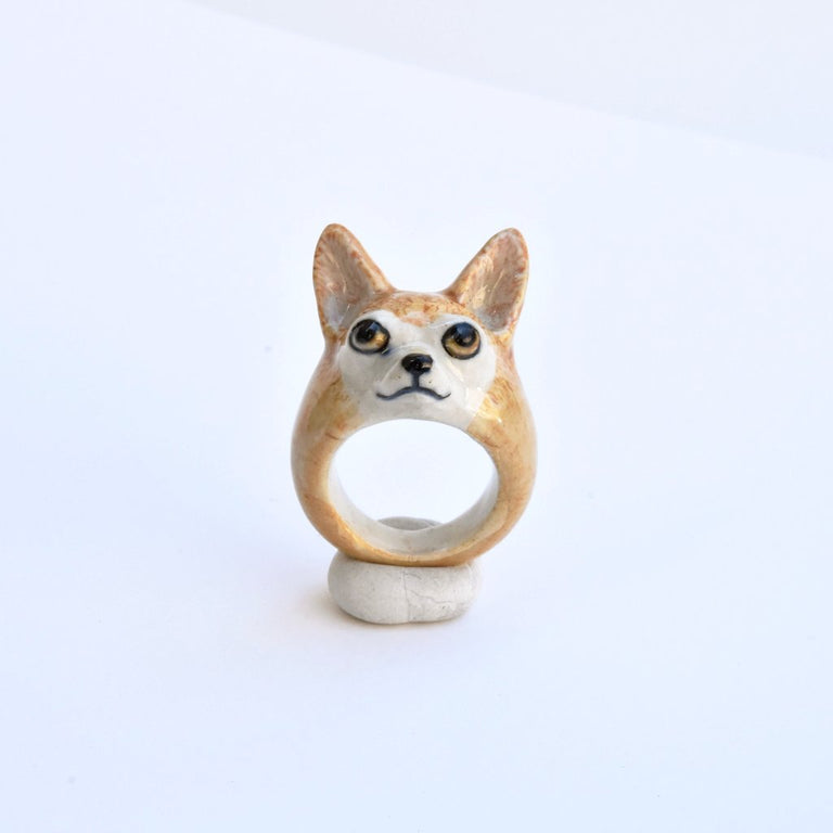Chihuahua Ring - Goldmakers Fine Jewelry