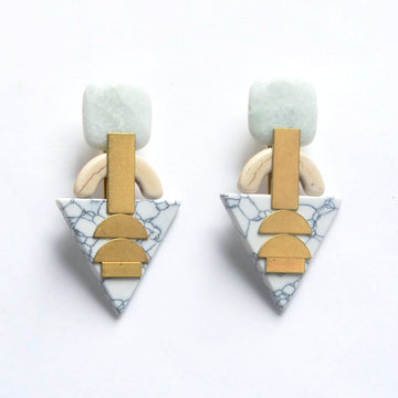 Arrowhead Post Earrings - Goldmakers Fine Jewelry
