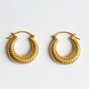 Morocco Medina Hoop Earrings - Goldmakers Fine Jewelry