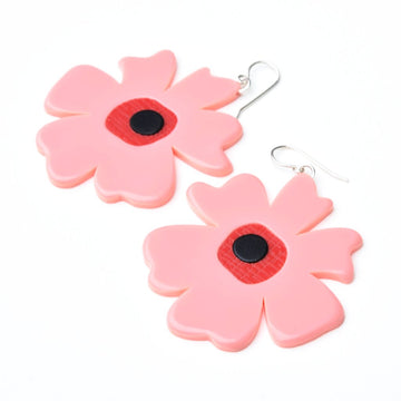 Large Poppy Earrings - Goldmakers Fine Jewelry