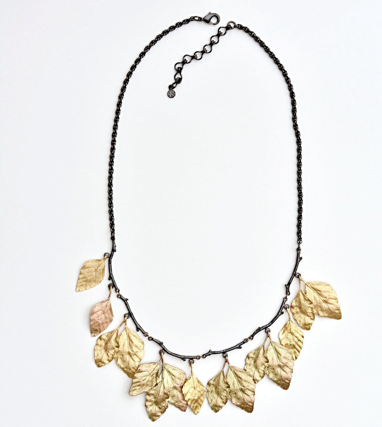 Autumn Birch Necklace - Goldmakers Fine Jewelry
