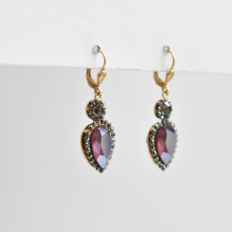 Georgina Pear Drop Earrings - Goldmakers Fine Jewelry