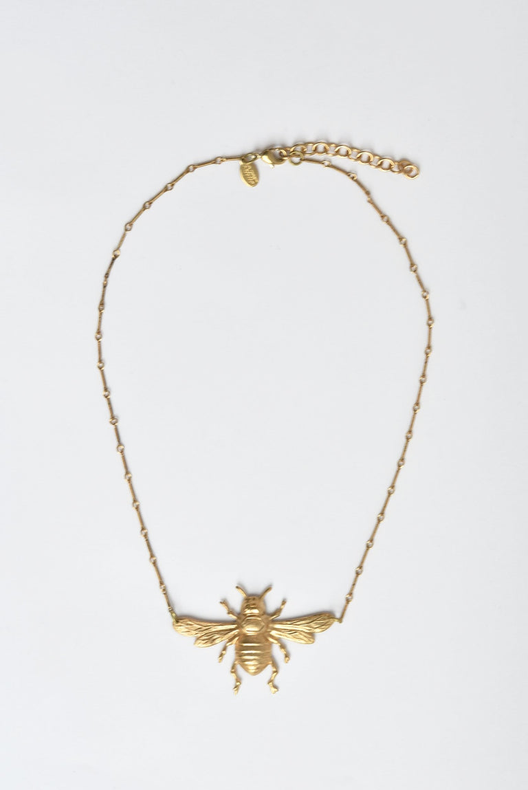 Bee Necklace - Goldmakers Fine Jewelry