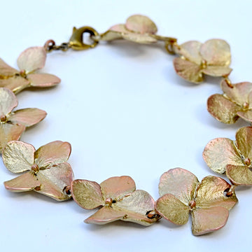 Hydrangea Bracelet - Goldmakers Fine Jewelry