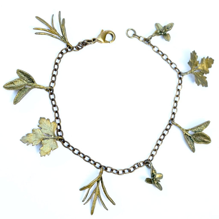Petite Herb Bracelet - Goldmakers Fine Jewelry