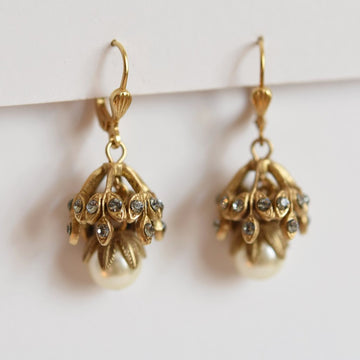 Belle Epoch Vintage Style Drop Earrings - Goldmakers Fine Jewelry