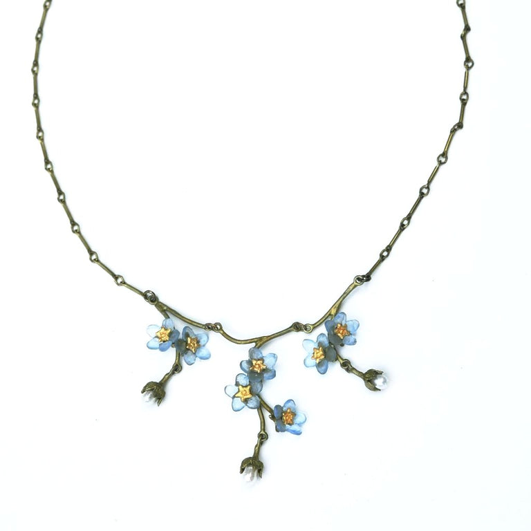 Forget Me Not Necklace - Goldmakers Fine Jewelry