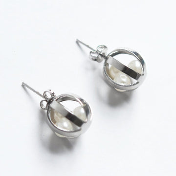 Pearl Cage Earrings - Goldmakers Fine Jewelry