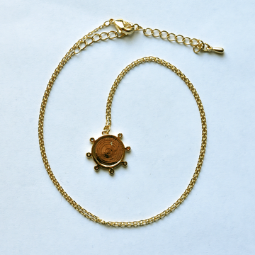 Sol Disc Necklace - Goldmakers Fine Jewelry