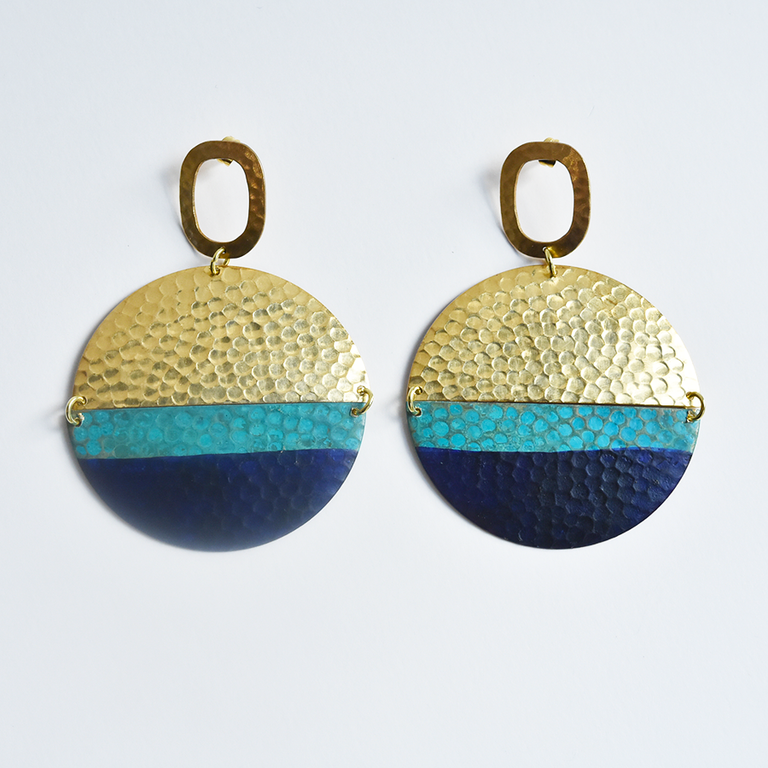Issoria Earrings - Goldmakers Fine Jewelry