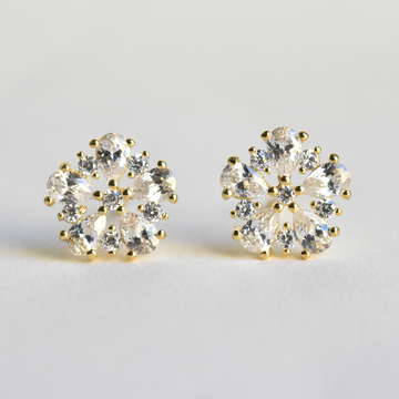 Elsa Studs - Goldmakers Fine Jewelry