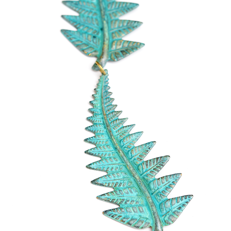 Fern Collar - Goldmakers Fine Jewelry