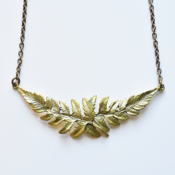 Fern Necklace - Goldmakers Fine Jewelry