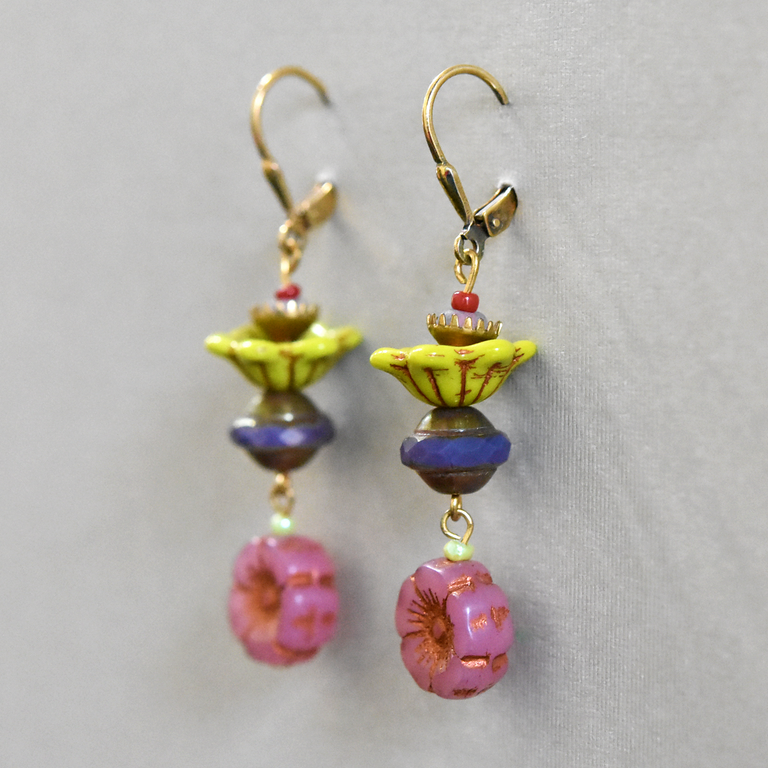 Flower Petal Drops - Goldmakers Fine Jewelry
