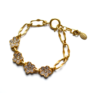 Flower Bracelet - Goldmakers Fine Jewelry