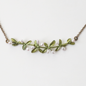 Flowering Thyme Necklace - Goldmakers Fine Jewelry