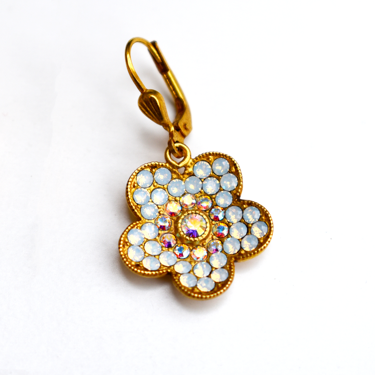 Flower Earrings - Goldmakers Fine Jewelry
