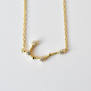 Gemini Constellation Necklace - Goldmakers Fine Jewelry